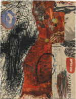 BRAUSEWETTER Martin  untitled, 1995  mixed media / paper   21 x 16 cm     please click the image to enlarge