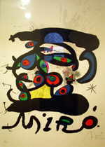 MIRó Joan  untitled, 1971  lithography (31 / 150)   85 x 60 cm     please click the image to enlarge